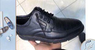 تولید کفش مردانه رسمی بند دار