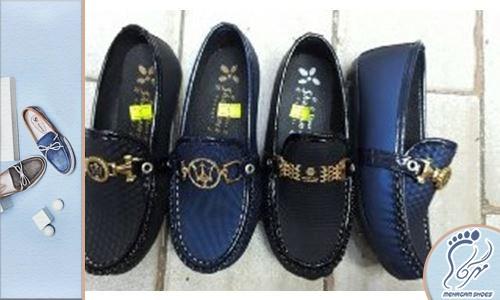 خرید عمده کفش بچه گانه پسرانه مجلسی