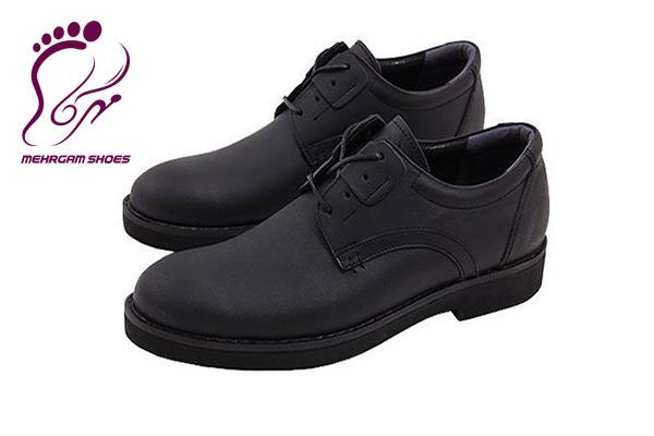 کفش چرم مردانه فرزین