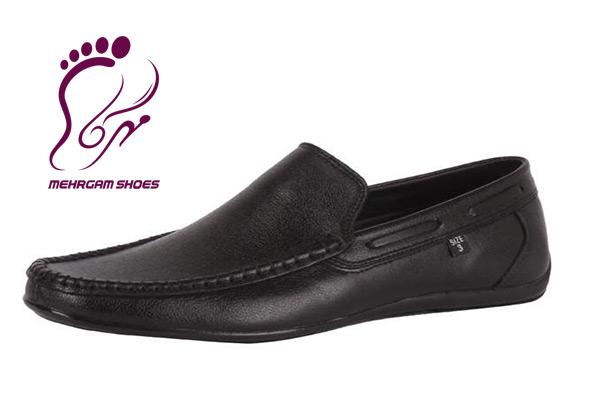 سفارش کفش چرم مردانه بدون بند