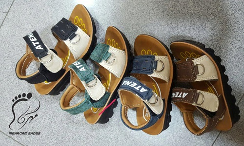 نمایشگاه نوروزی کفش های بچه گانه