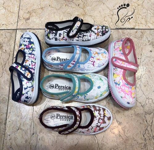 سفارش خرید عمده کفش تابستانی دخترانه ارزان