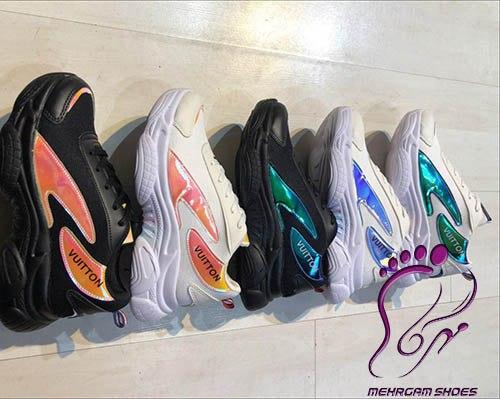 کفش اسپرت هولوگرامی زنانه