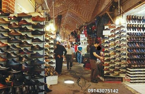 عمده فروشی کفش مردانه در تبریز