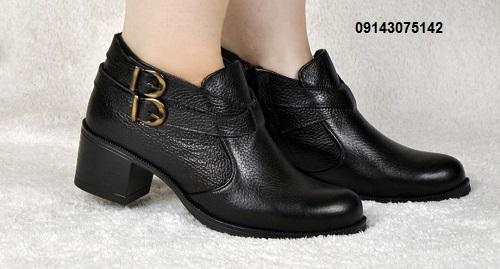 کفش زنانه زمستانی پاشنه دار