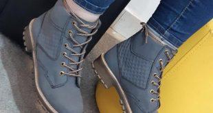 کفش نیم بوت زمستانی زنانه