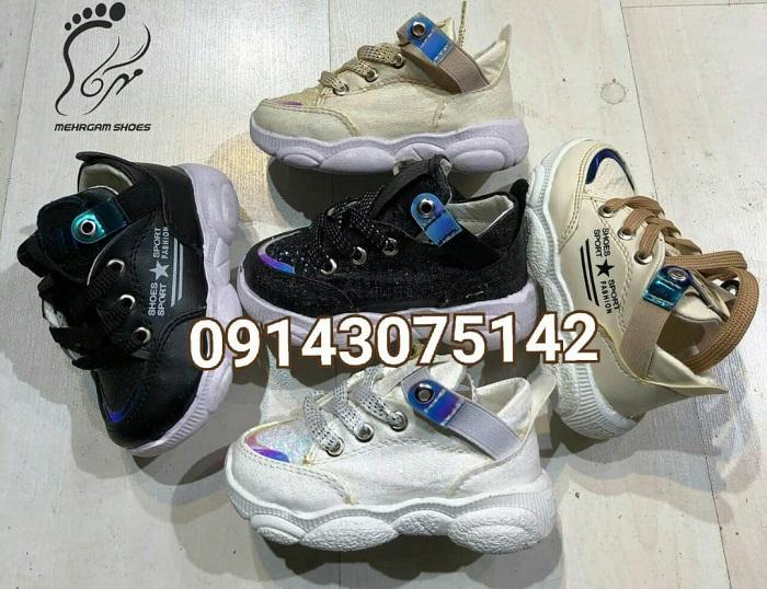 خرید عمده کفش بچه گانه مدل شیک در تهران