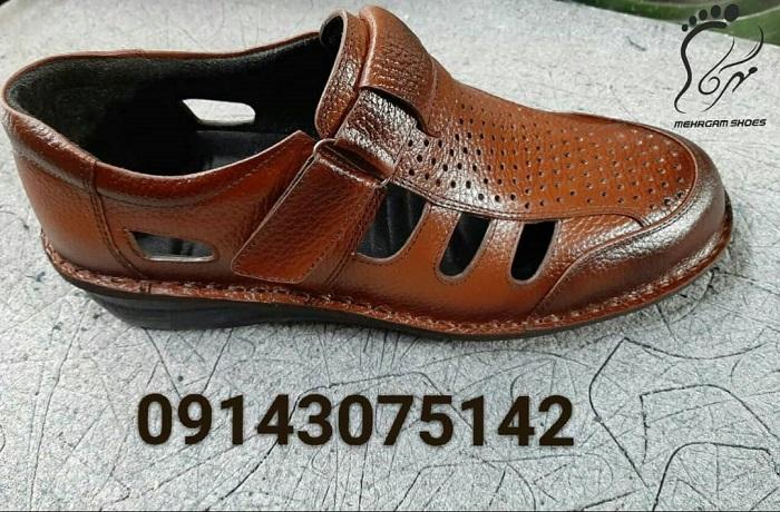 کفش تابستانی مردانه طبی