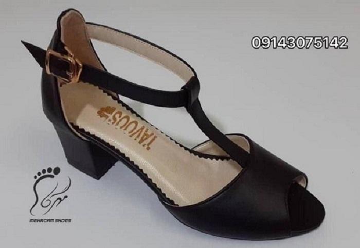 کفش زنانه مجلسی پاشنه دار